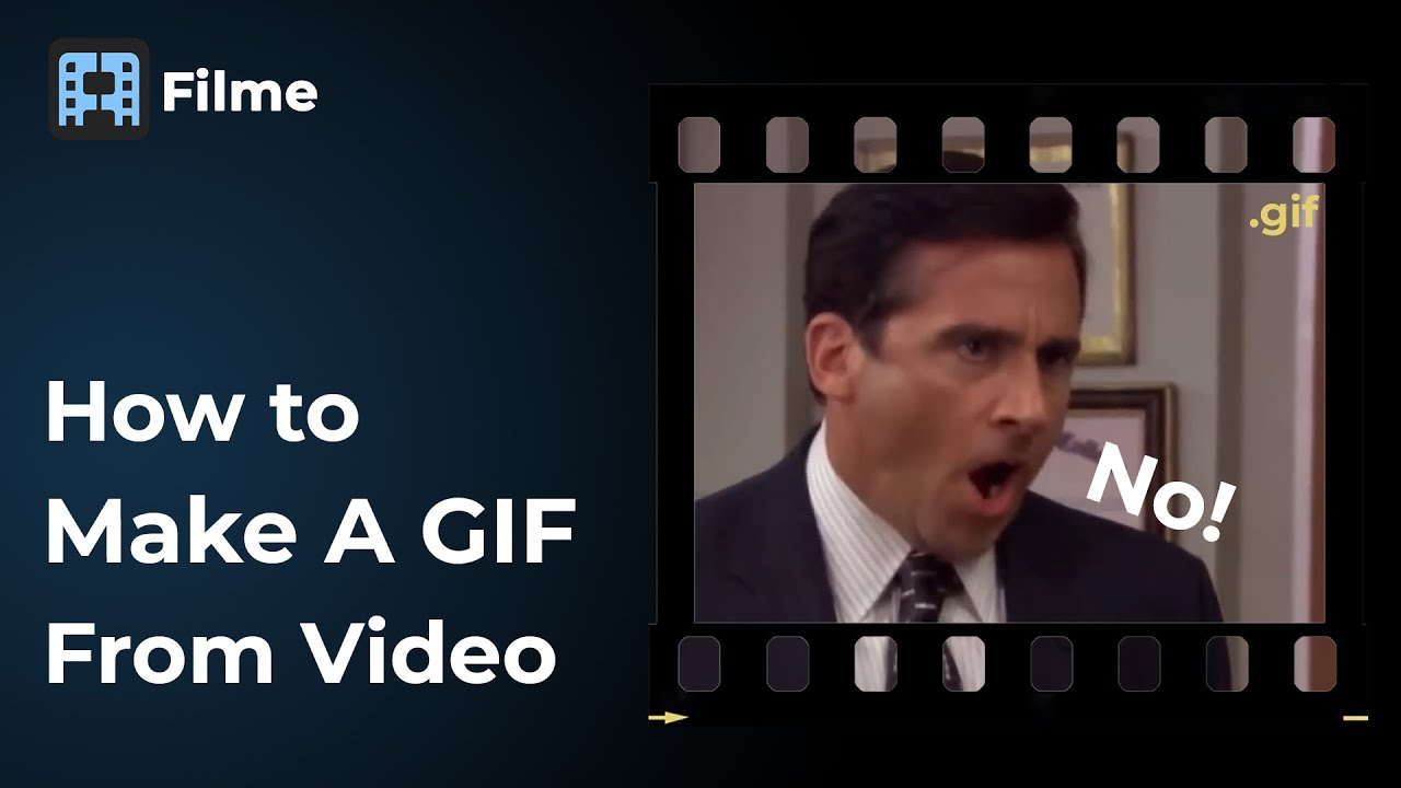 Make A GIF from Video with Filme