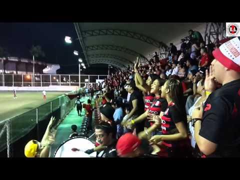 """""""El apoyo incondicional de La Barra AKDmica"""" Barra: Barra Academica • Club: Sporting San Miguelito"""