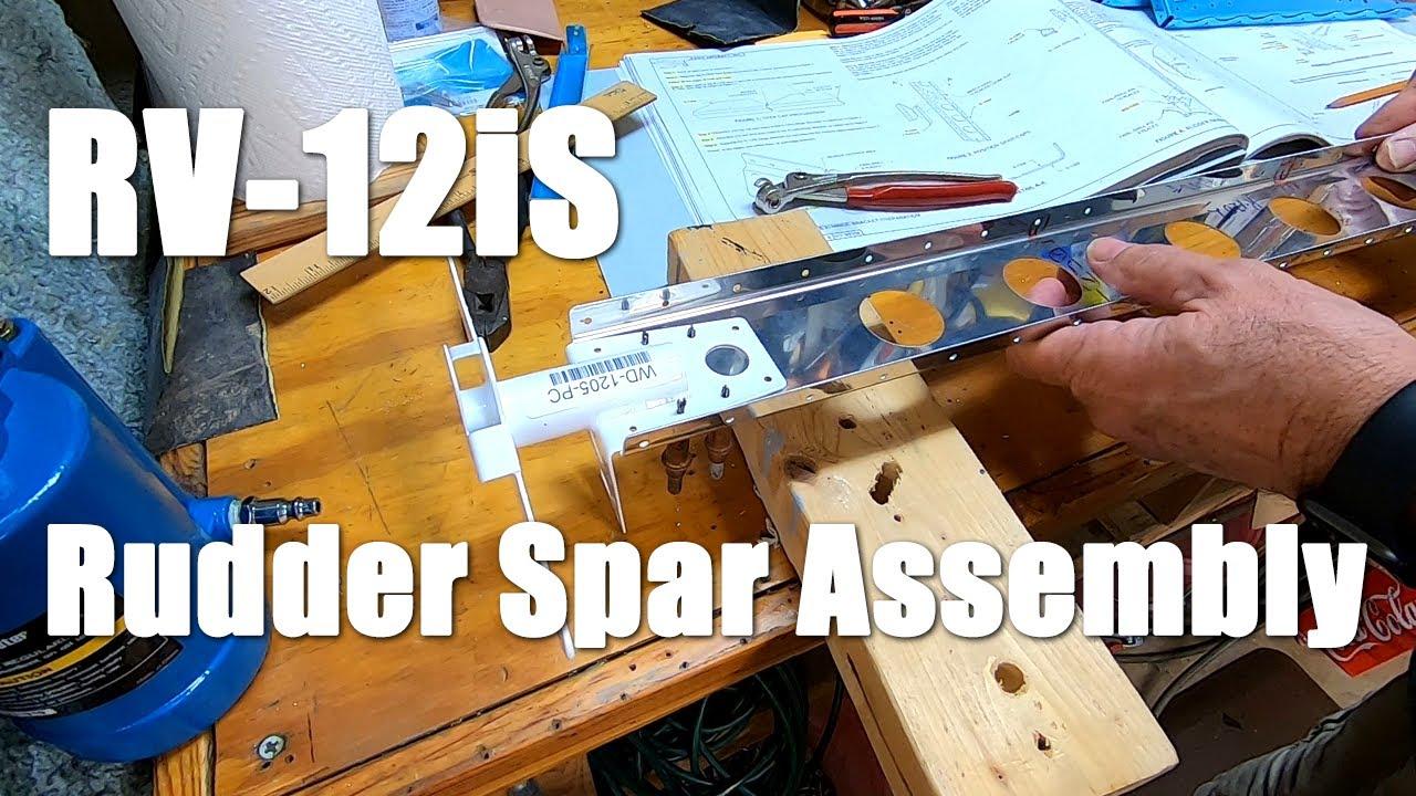 RV-12iS - Rudder Spar Assembly -Part 2 - Plus Video Documentation Tip