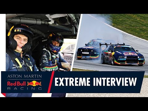 Max Verstappen's Extreme Interview with the Red Bull Drift Brothers at the Red Bull Ring