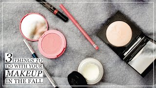3 Ways to Change Your Makeup for Fall