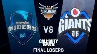 MOVISTAR RIDERS vs VODAFONE GIANTS | Superliga Orange CoD | FINAL DEL LOSERS