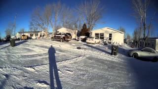 8 below zero 300 CFX morning flight