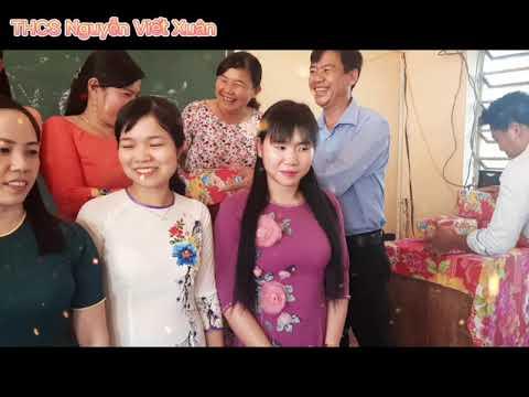 Chúc mừng ngày 8-3 Trường THCS Nguyễn Viết Xuân