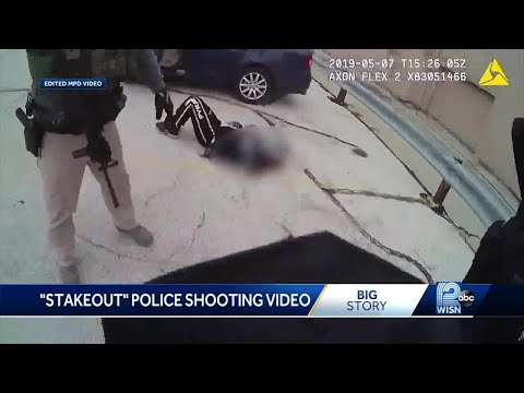 Milwaukee police release edited video of police shooting