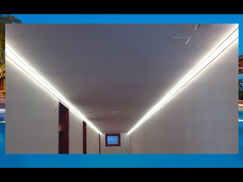Illuminazione a LED corridoio hotel di lusso - Luxury Hotel rooms corridor  LED lighting - Veltronix