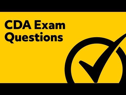 CDA Exam Questions - YouTube
