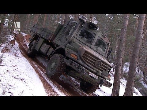 Offroad LKW für die Bundeswehr - Der ZETROS