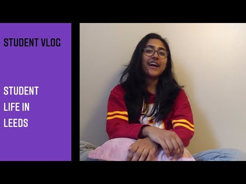 My student life in Leeds by Anagha from India