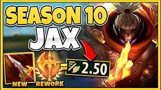 *THIS IS BROKEN* MY ATTACK SPEED CAPPED AT 1 ITEM (SEASON 10 BROKE JAX) - League of Legends