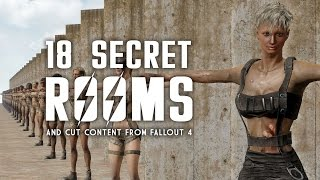 18 Secret Rooms & Cut Content from Fallout 4