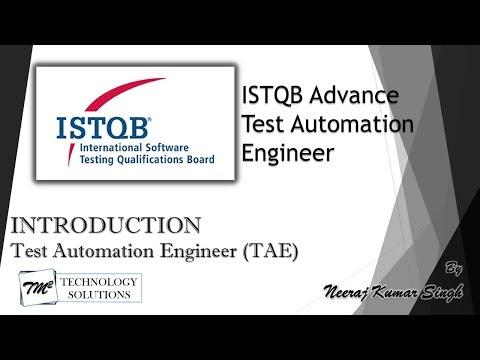 ISTQB Test Automation Engineer | Introduction | ISTQB Tutorials ...