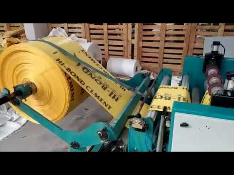 Woven Sack Cutting & Sewing Machine