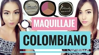 Probando Maquillaje Colombiano- Económico | Liris Diy |