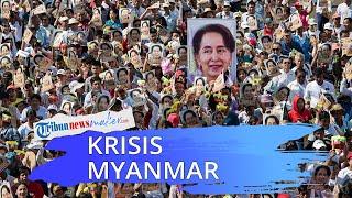 Militer Ambil Alih Negara Pasca-Tangkap Pemimpin Myanmar Suu Kyi, Akui Ada Kecurangan Pemilu