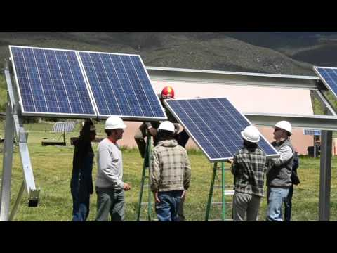 Overview of Technical Solar PV Training at Solar Energy ... - YouTube