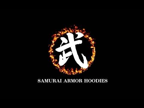 這個超帥瘩!武者甲冑連帽外套SAMURAI ARMOR HOODIES