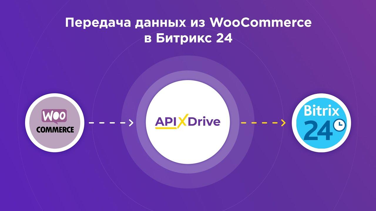 Как настроить выгрузку данных из WooCommerce в виде сделок в Bitrix24?