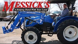 New Holland WorkMaster Utility - Operation / How to Drive a Shuttle Shift Tractor