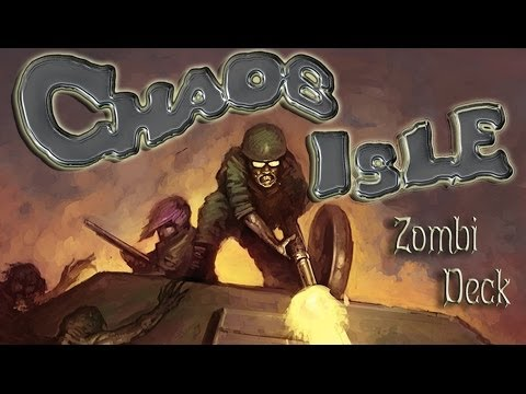 Chaos Isle Deluxe Survivor´s Kit Episode 2 Solitaire Setup and Play Through