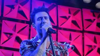 Maroon 5, Lucky Strike Bowery Ball Room. Private Amex show 6/20/2014