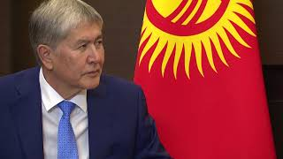 Алмазбек Атамбаев встретился с Президентом России