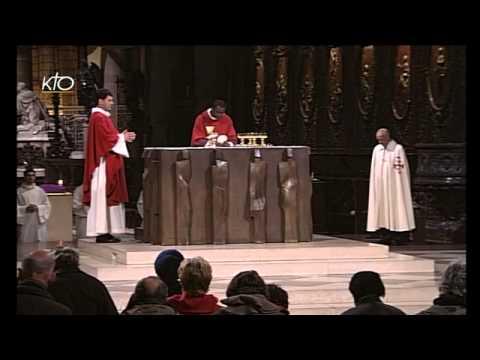 Messe du 15 novembre 2013