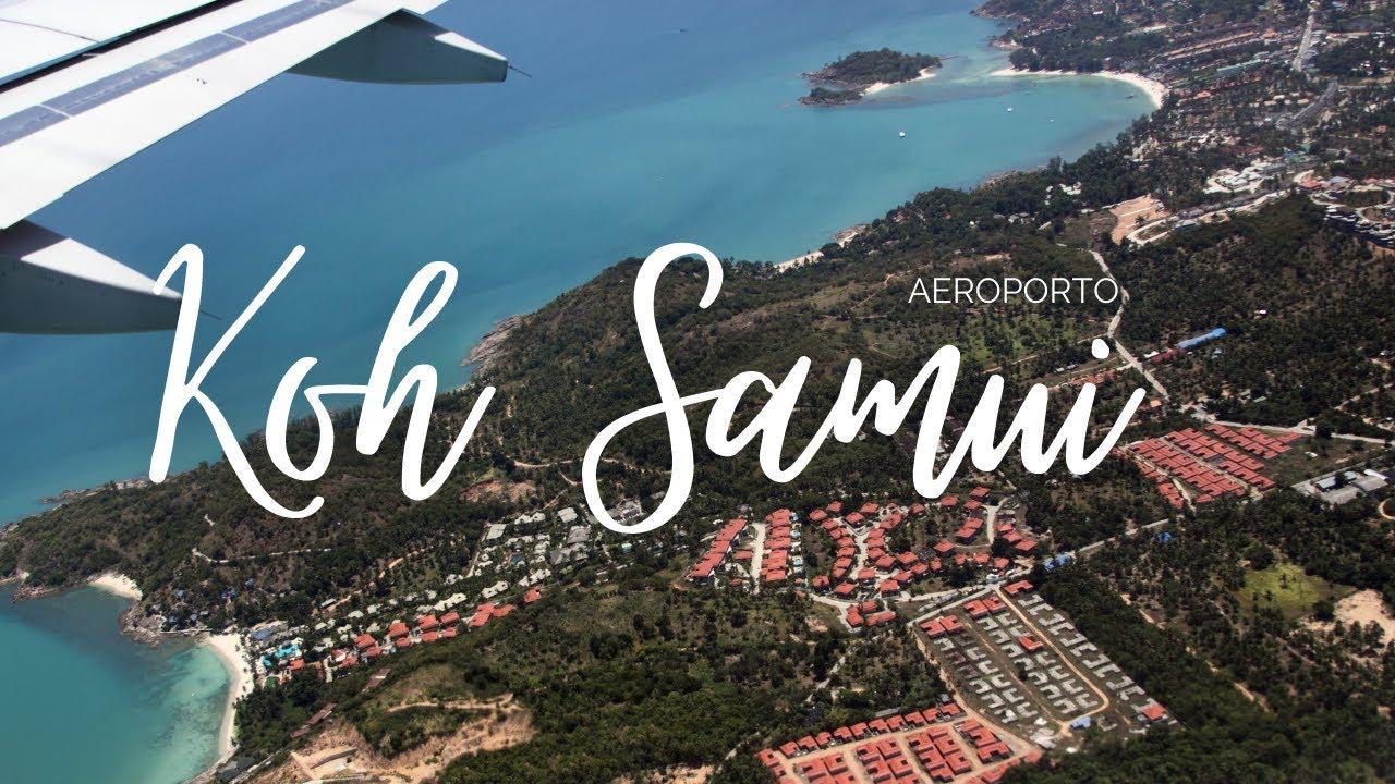 L'AEROPORTO più BELLO della THAILANDIA – Koh Samui Airport