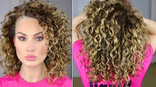 FINGER COILING FOR DEFINITION   The Glam Belle