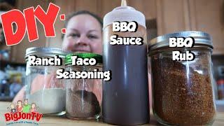 DIY Seasonings | Ranch Mix | BBQ Sauce & Rub | Taco Seasoning || Whats Cookin Wednesday