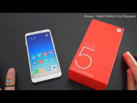 รีวิว Xiaomi Redmi 5 แรงสะใจด้วย Snapdragon 450 ในราคา 5 พันกว่าบาท