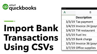 How to upload transactions manually in QuickBooks Online