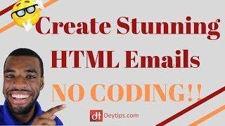 HTML Email [No Coding] Beefree.io Tutorial | HTML Email Template