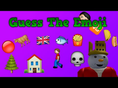 Guess The Emoji 227 Stages Roblox
