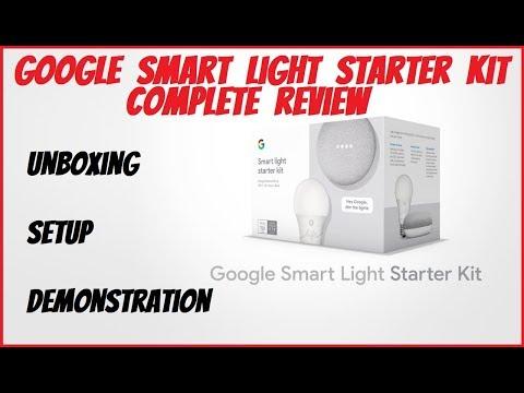 Google Smart Light Starter Kit Review -Home Mini + GE C-Life Smart Bulb