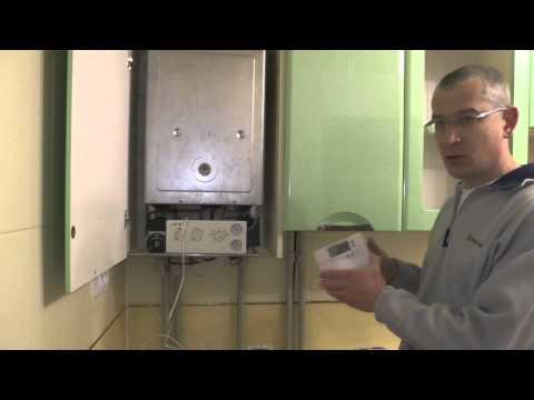 Как подключить и настроить термодатчик для котла отопления - смотреть видео
