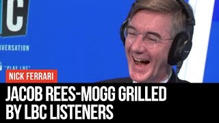 Ring Rees-Mogg: Jacob Rees-Mogg Grilled By Listeners - LBC