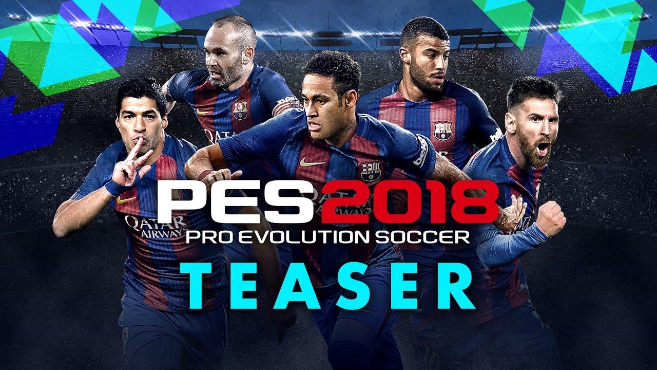 Trailer di Pro Evolution Soccer 2018 (PES 2018)
