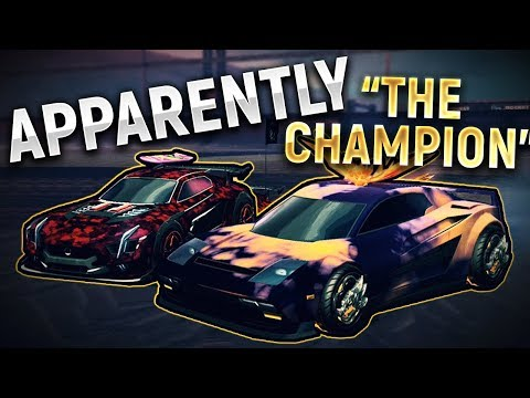 """Carried by """"THE CHAMPION"""" - Rocket League"""