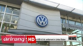 Volkswagen pleads guilty, agrees to US$4.3 bil. settlement in U.S.