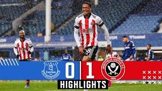 Everton 0-1 Sheffield United Pekan 36