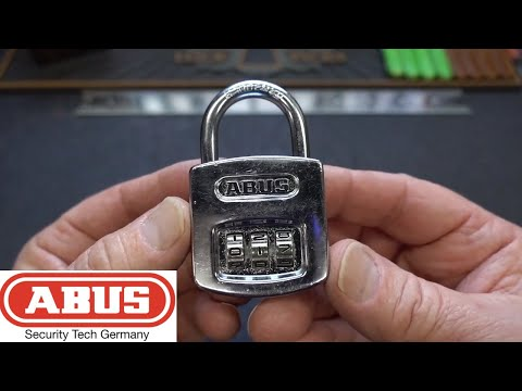 (1413) Decode Abus 160/40 Combination Padlock