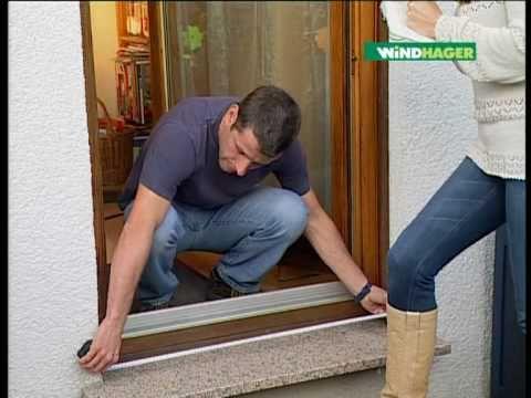 Windhager Insektenschutz-Klemm-Rollo Aluprofi für Türen