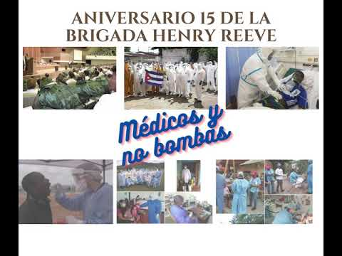 Convocatoria Tuitazo-Aniversario 15 de la Brigada Henry Reeve