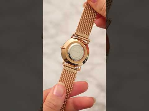 May Sparkle Bloom Girl Bloom Lala ladies watch rose gold colored