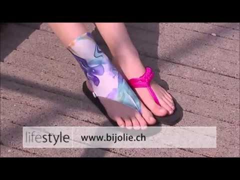 Bijolie HotShot TeleZüri Sandalen und Flip-Flops