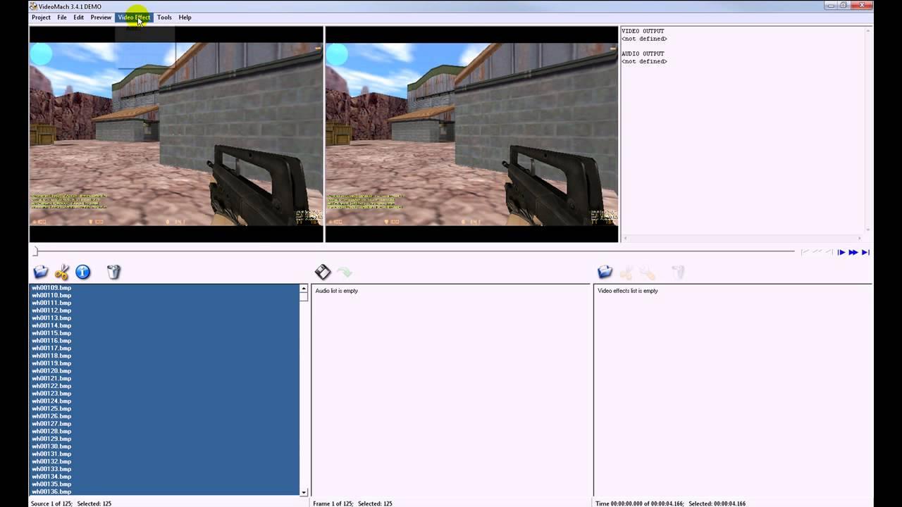 Videomach – Programmvorstellung