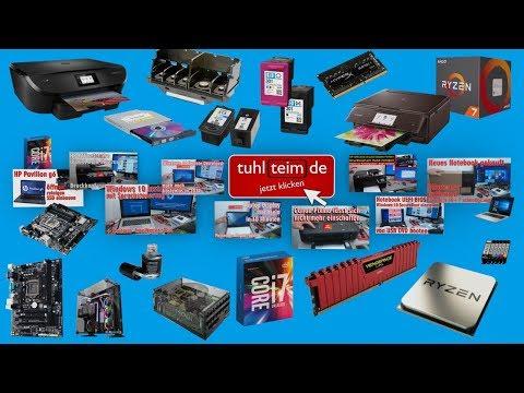 Livestream - Intel NUC - USB-TFT-Monitor - Funklautsprecher Logitech