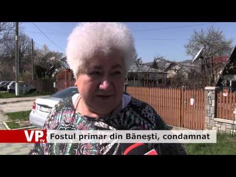 Fostul primar din Băneşti, condamnat