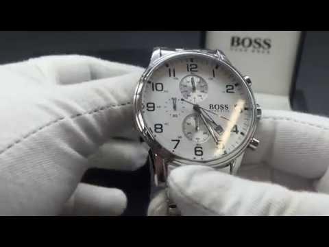 Chronos Watches Hugo Boss Mens Silver 1512445 Watch